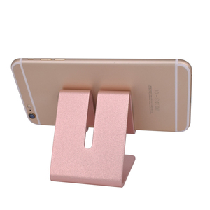 Colorful portable Aluminum alloy cell phone holder table stand for mobile phone