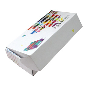 custom corrugated double side printing carton packaging dumbbells tuck boxes shipping mailing with logo
