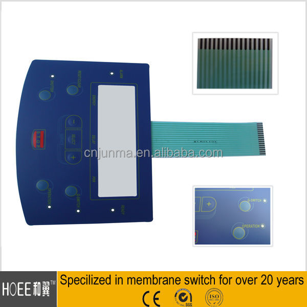 Good Quality Assured Tactile FPC Plastic Front Industrial Screen Panel