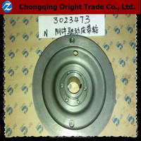 Genuine Accessory Drive Pulley 3023473 for chongqing cummins NH/NT855 diesel engine parts