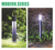 High Quality high efficiency solar light Ip65 600Mm 800Mm Dimmable Solar LED pillar light garden bollard light outdoor