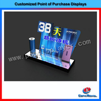 New product acrylic cell phone retail display stands