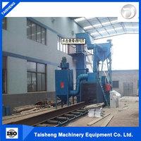Factory supply thin-walled iron castings wire mesh belt shot blasting machine made in china