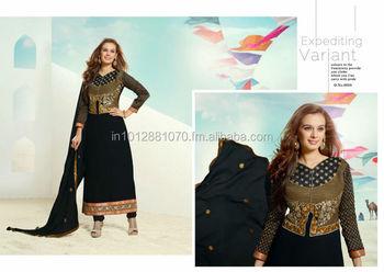05a3551a9d Designer Indian Wedding Traditional Salwar Kameez Bollywood Anarkali Suit  Top Dress GORGEOUS COUTURE EVENING DRESSES