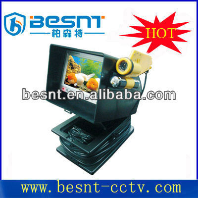 Vivid image, simple operation and waterproof cmos camera, Underwater monitor with metal casing BS-ST06A