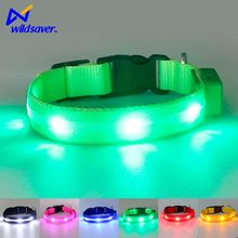 led flashing dog collar light up leash and collar glow in the dark