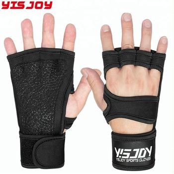 2018 Best Weightlifting Glove Men Gym Crossfit Training Gloves For