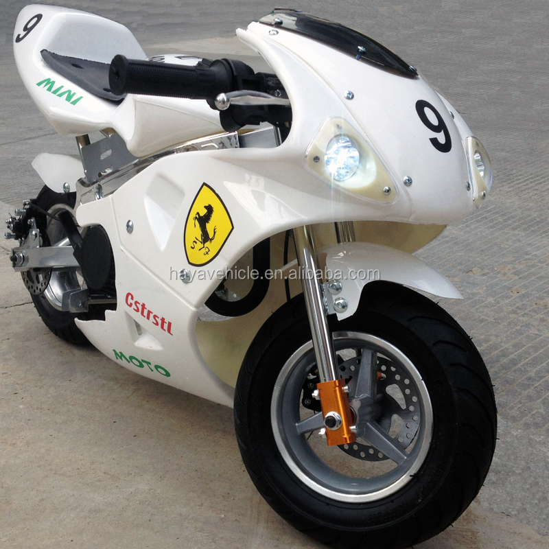 50cc Mini Racing Motorcycle with LED Lights