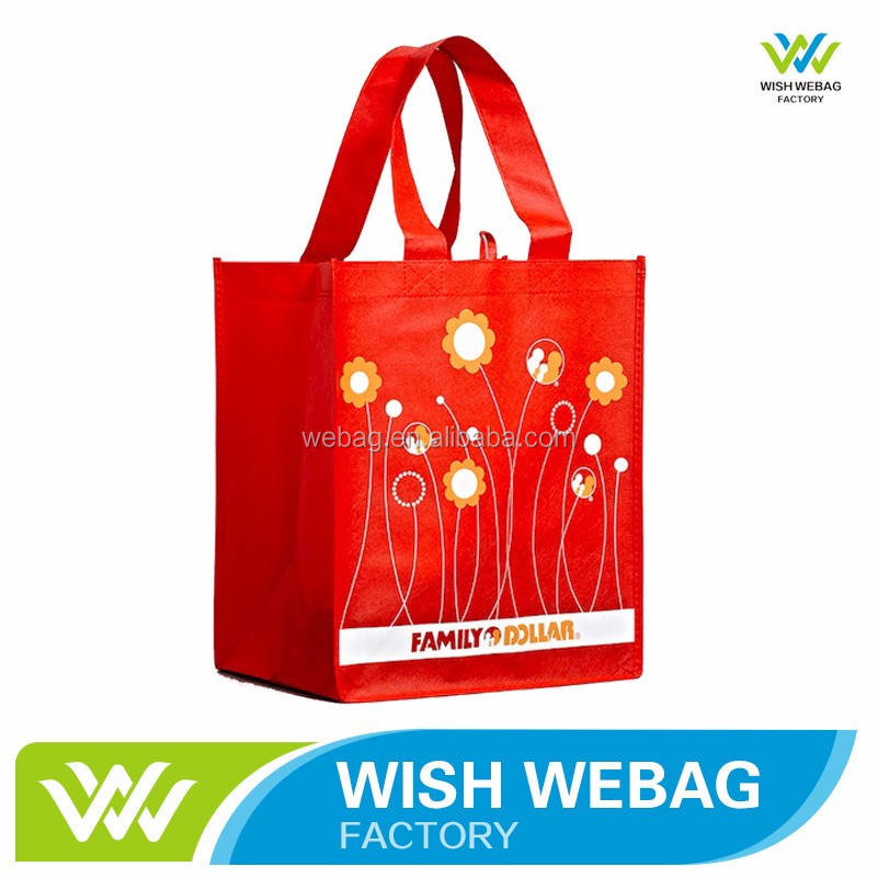 High Quality lead free non woven fabric gift bag