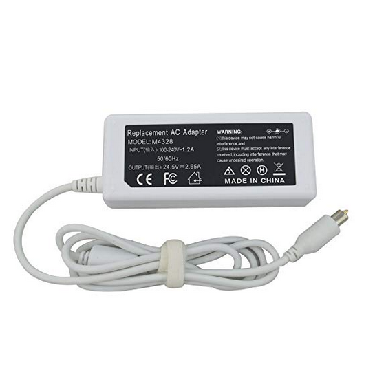 AC adapter for Apple iBook Mac laptop G3//G4 A1005 a1133 Battery Charger 65W 24V