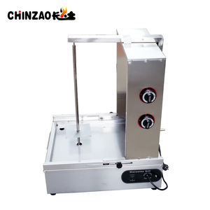 Beautiful Designed CHINZAO Brand Gas Shawarma Grill Machine for sale