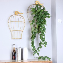 Plastic artificial grape vine leaf for hanging on wall
