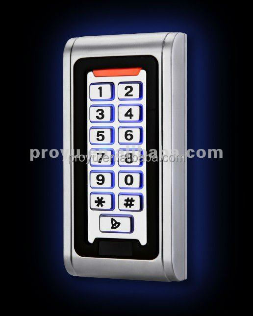 Hot selling! metal keypad Waterproof outdoor access controller for Gate Entrance
