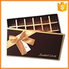 Handmade customized design luxury fancy empty chocolate gift box