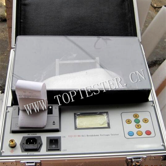 Power Plant Transformer Oil Dielectric Strength Test Device