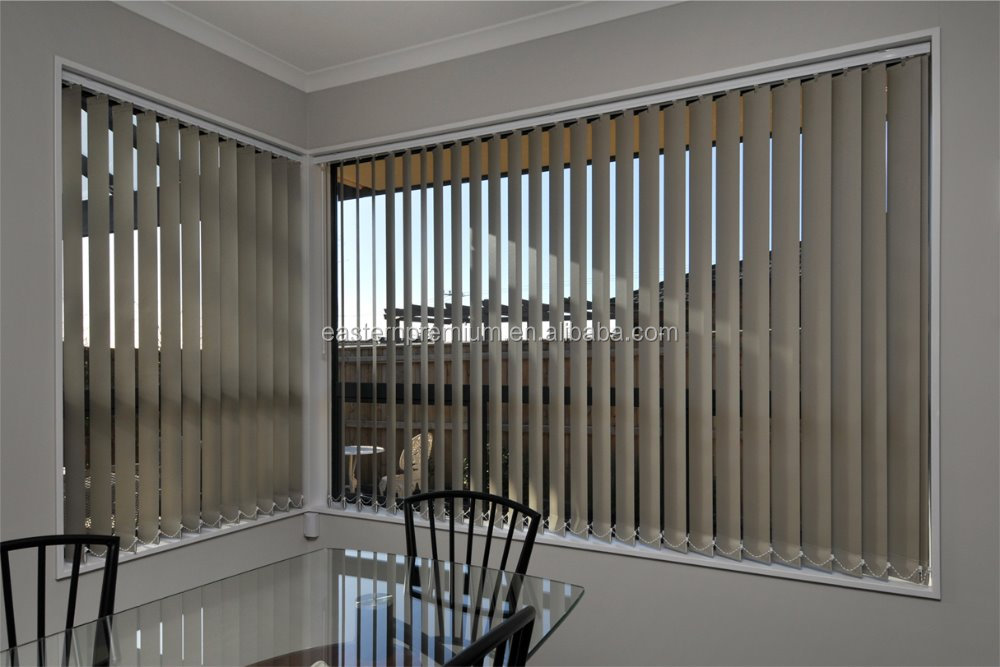 Indoor Sunscreen Motorized Electric Manual Vertical Blinds