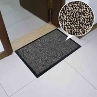 Cut pile anti dust outdoor indoor entrance polyester pile door mat