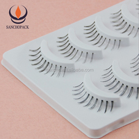 Popular thermoforming tray 3d Mink Eyelashes box packaging