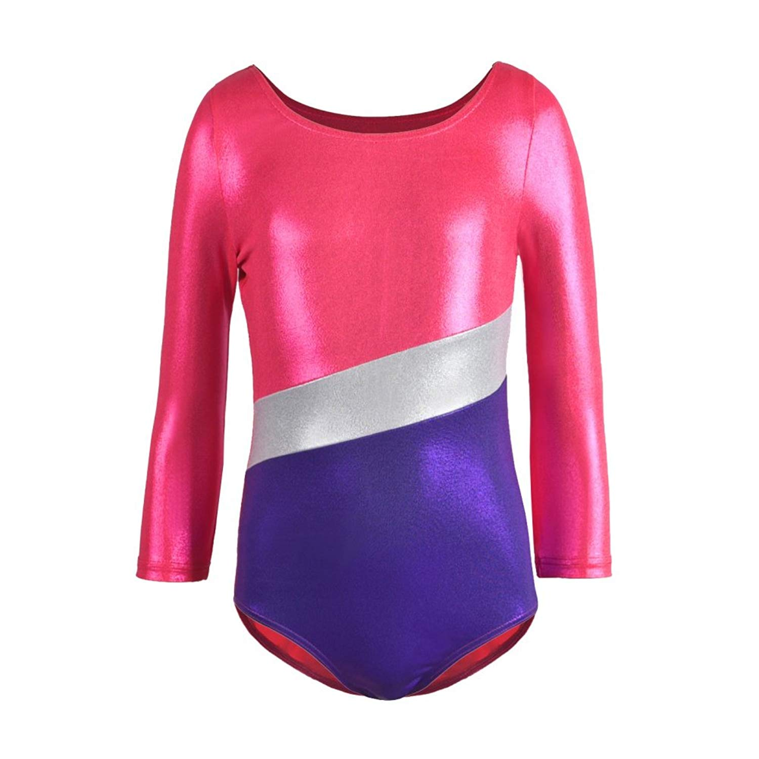 836f361b4675 Cheap Girls Hot Pink Leotard