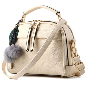 cz18048e Fashion luxury handbag women bags designer high quality pu faux fur bulk buy handbags