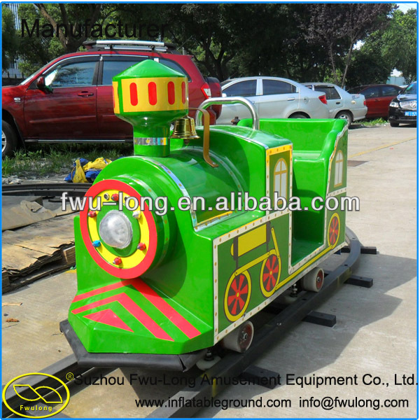 New Material Electric Ride On Train With Tracks On Sale