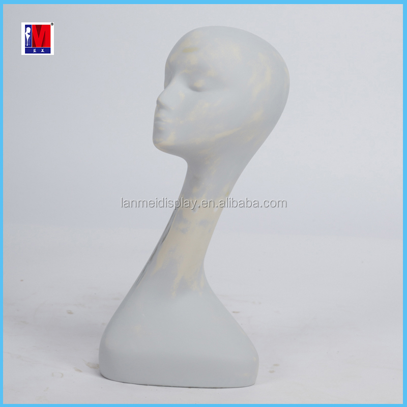 cheap female head mannequin for sale hair show