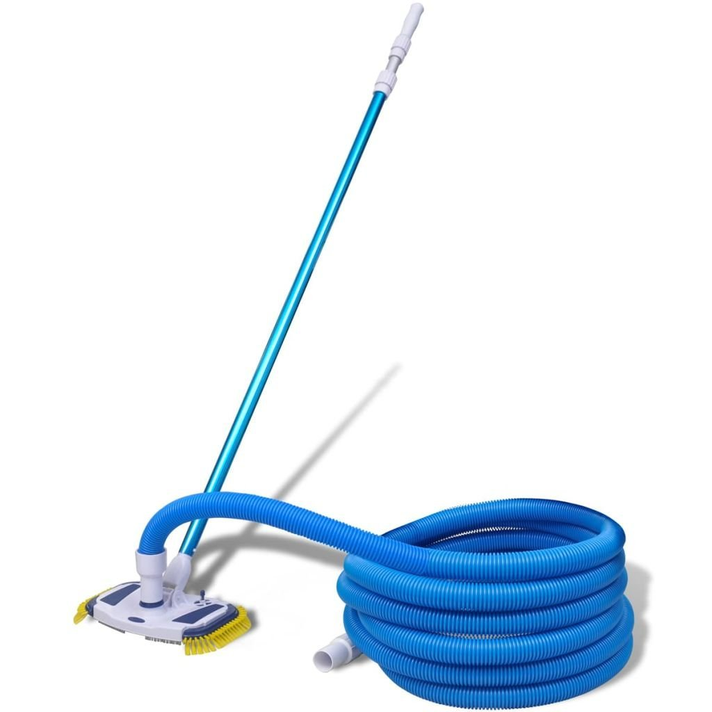 NEW HydroTools 8140 Weighted Swimming Pool Vacuum Head w// 5-15/' Telescopic Pole
