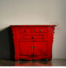 Chinese antique furniture--antique glossy cabinet
