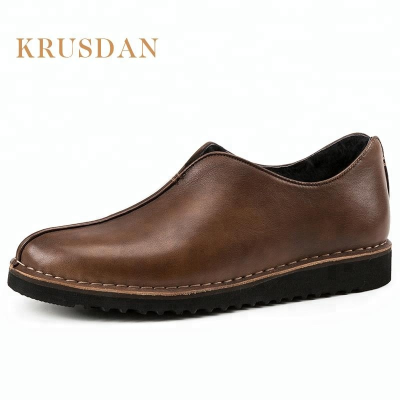 leather pure casual luxury men lining bespoke wool Comfortable shoes q0Bdwq