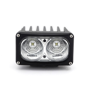 2017 new design 12v 24v 30W 5.5inch square Car LED Work Lamp IP68 waterproof ATV Off-road SUV super bright Driving Spotlight