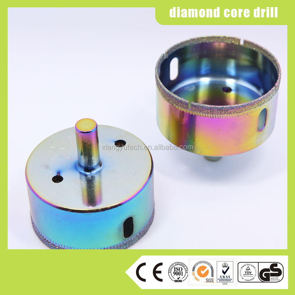 Diamond Coated Core Drill Bits Glass Hole Saw made in China