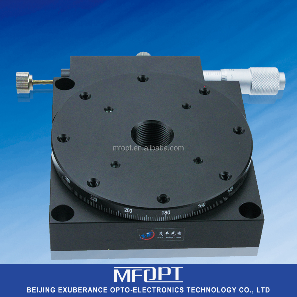 MRA60-6/Coarse Adjustment 360/Fine Adjustment +-5/High Accuracy Precision Rotary Stages/manual rotation stage