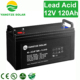 Msds sealed 12v 120ah oil lamp led battery