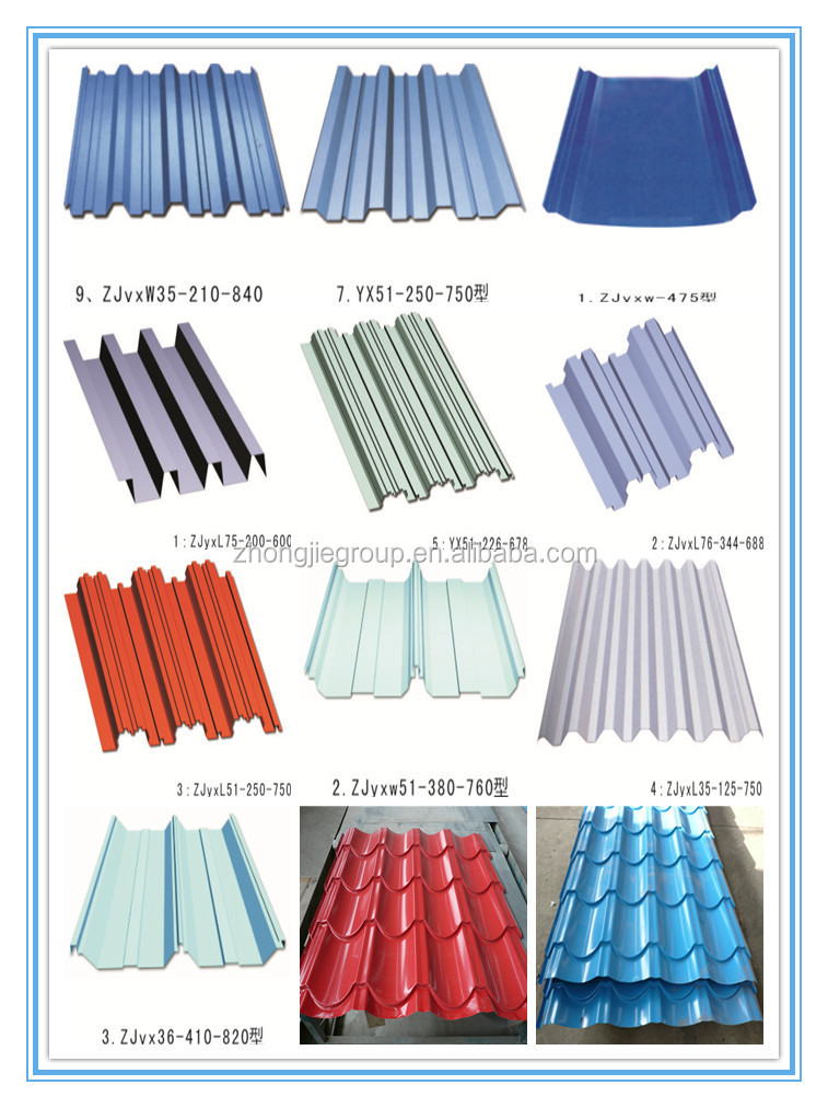Color Coated Galvanized Steel Aluminum Roof Sheet Buy