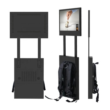 outdoor portable Display 22 inch android advertising video player lcd advertising videoplayer advertising MULTIMEDIA PLAYER