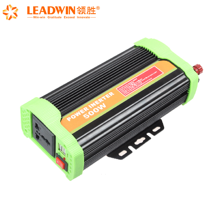 500W Pure Sine Wave 220V Solar Panel Solar Inverter With Lithium Battery