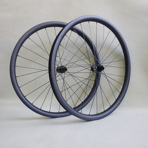 2018 MTB 29er carbon wheels asymmetry rim 33 wide with DT swiss 350S hub