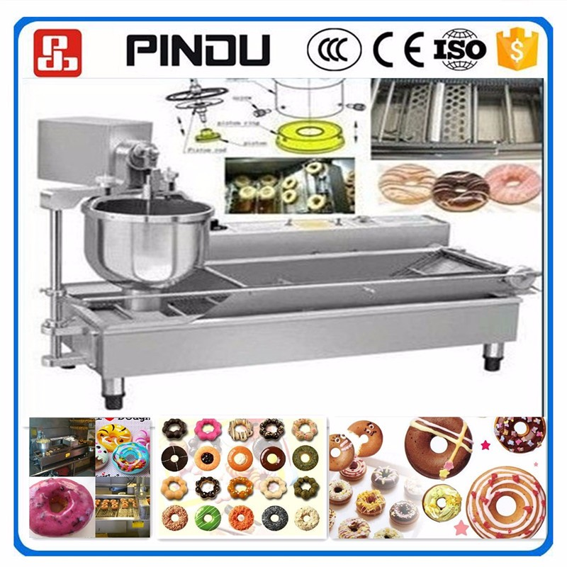 stainless steel electric gas dount doughnut making machine