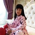 Nightgowns for Girls Flannel Long Nightdress Winter Pajamas warm Nightwear Girl Robe children s lounge nightshirt