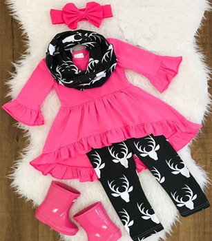 068349265 Wholesale Usa Girl Boutique Clothing Adorable Children's Deer Cotton Fall  Clothes Outfit Baby Girl Deer Outfit - Buy Deer Outfit,Girl Deer  Outfit,Fall ...
