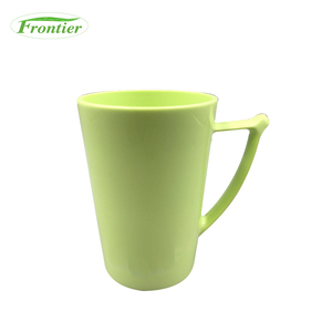 China Biodegradable Cheap Unbreakable 400ml Cool PLA Mug With Handles