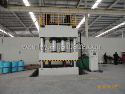 Popular customized square ram 4 guide column hydraulic press 160t