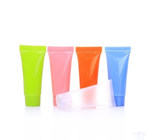 Wholesale color 5 ml hand cream lotion bottle/cosmetic hose