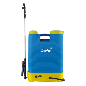 Rechargeable long handle knapsack power home water sprayer