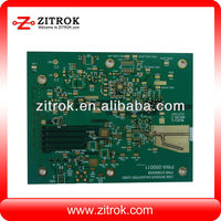 Electronic fm transmitter pcb connector board