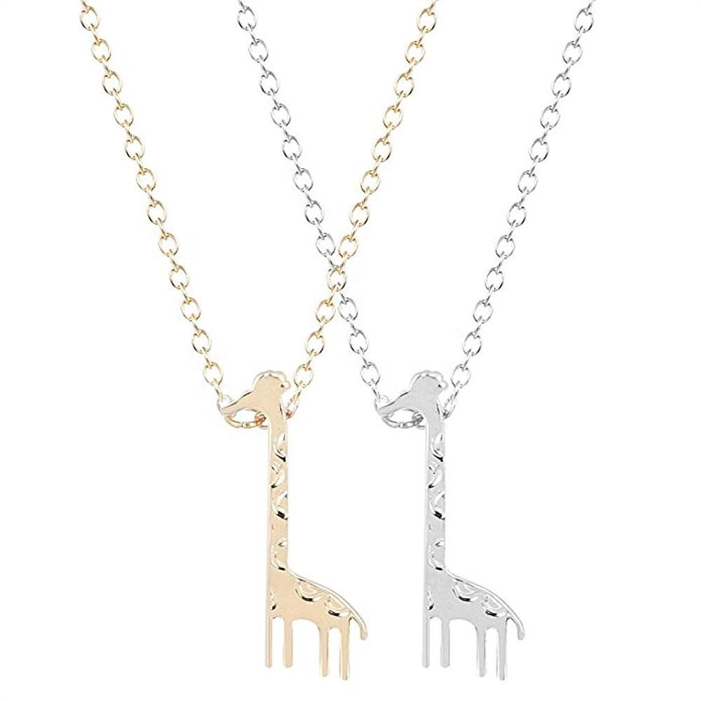 9e7ce8ba687b Venta al por mayor jirafa collar colgante-Compre online los mejores ...