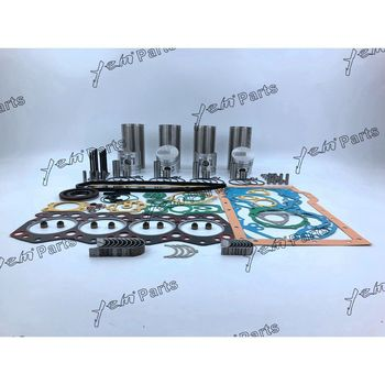 S4E Overhaul Kit With Cylinder Gasket Piston Ring Liner Kit Bearings Valves Set For Mitsubishi