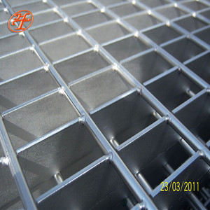 Low carbon steel or stainless steel or aluminum steel grating factory made