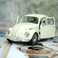 Brand New UNI 1 32 Scale Car Model Toys Germany 1967 Volkswagen Beetle Diecast Metal Pull