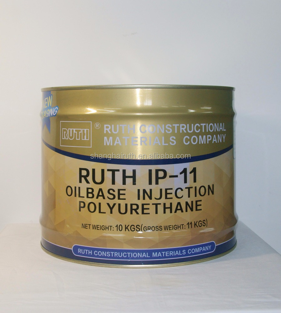 Polyurethane Injection Resin For Waterproofing
